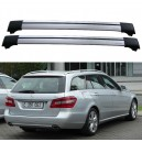 Mercedes-Benz W212 S212 Estate Roof Rack Aero Cross Bars Spoiler Set