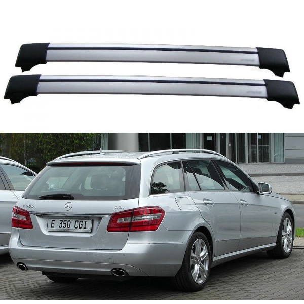 2009 mercedes e350 roof rack for Mercedes benz roof rails