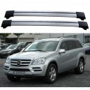 Mercedes Benz GL X-164 Roof Rack Cross Bars Spoiler Set