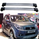 Daihatsu Terios 2006+ Roof Rack Aero Cross Bars Set