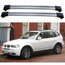 BMW X3 E83 5dr 4x4 2006-2008 Roof Rack Aero Cross Bars