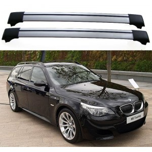 BMW 5-Series E61 Touring 2007–2010 Aero Cross Bars Set