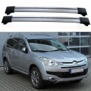 Citroën C-CROSSER 5dr SUV 2007+ Roof Aero Cross Bars Set
