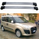 Fiat Doblo MK2 5dr MPV 2009+ Roof Aero Cross Bars Set