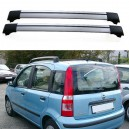 Fiat Panda 5dr Hatch 2004+ Roof Aero Cross Bars Set