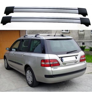 Fiat Stilo Multiwagon 5dr Estate 2003+ Roof Aero Cross Bars