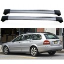Jaguar X-Type 5dr Estate 2004+ Roof Aero Cross Bars Set