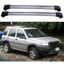 Land Rover Freelander Hardback 3dr 4x4 97-06 Roof Aero Cross Bars Set
