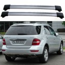 Mercedes-Benz M-Class W164 2005-2011 Roof Aero Cross Bars Spoilers Set