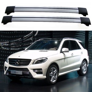 Mercedes-Benz M-Class W166 2011+ Roof Aero Cross Bars Spoilers Set