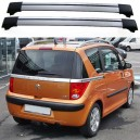 Peugeot 1007 04-09 Estate Roof Aero Cross Bars Spoiler Set