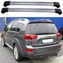 Peugeot 4007 Estate Roof Aero Cross Bars Spoiler Set