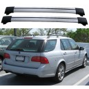 Saab 9-5 Wagon 06-09 Roof Aero Cross Bars Set