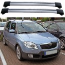 Skoda Roomster 5dr Estate 2006+ Roof Aero Cross Bars Set