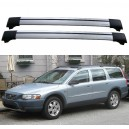 Volvo V70 MK2 II 5dr Estate 2000 - 2007 Roof Rack Aero Cross Bars Set