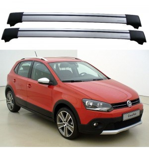 Volkswagen Cross Polo MK5 Roof Rack Cross bars Set