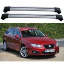 SEAT Exeo ST Estate 2009+ Roof Rack Aero Cross Bars Spoiler Set